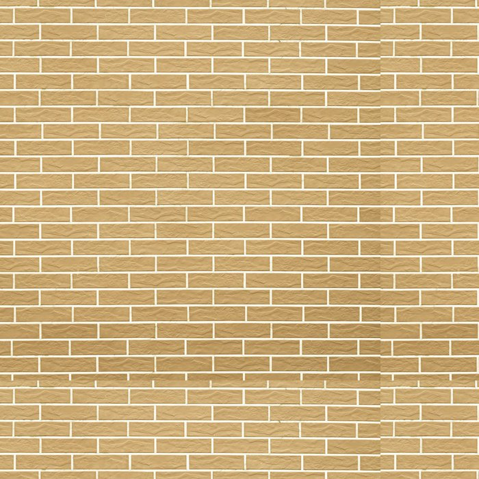 Tapeta Pixerstick Detailní záběr na žluté cihlové zdi jako pozadí nebo textury - Struktury