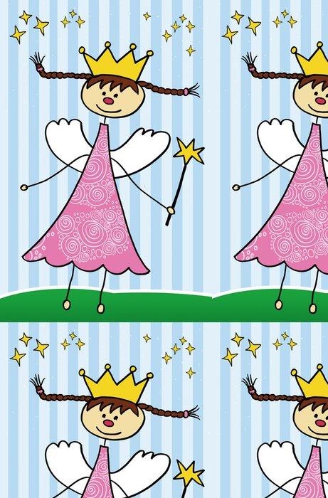 Tapeta Pixerstick Dětská kresba - Štěstí