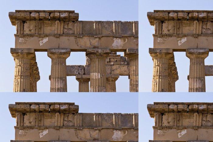 Tapeta Pixerstick Dettaglio del Tempio Greco di Era - Selinunte - Památky