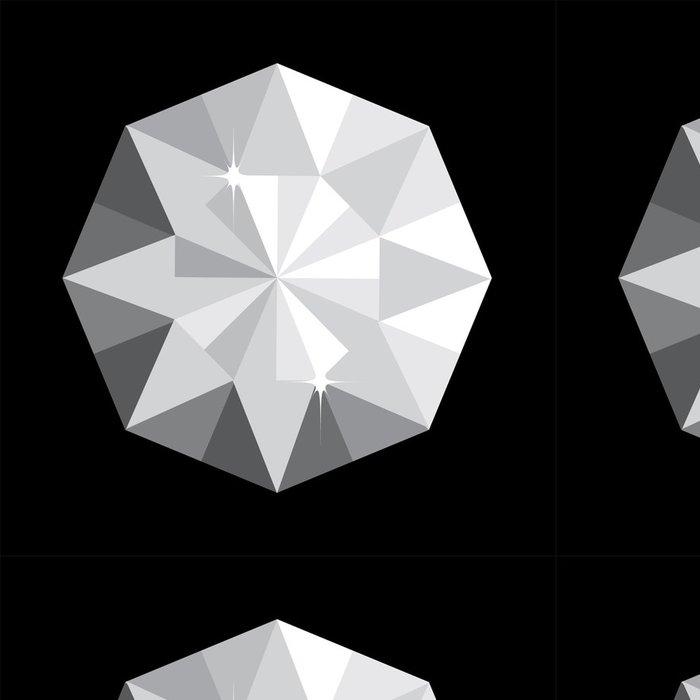 Tapeta Pixerstick Diamond vektor - Páry