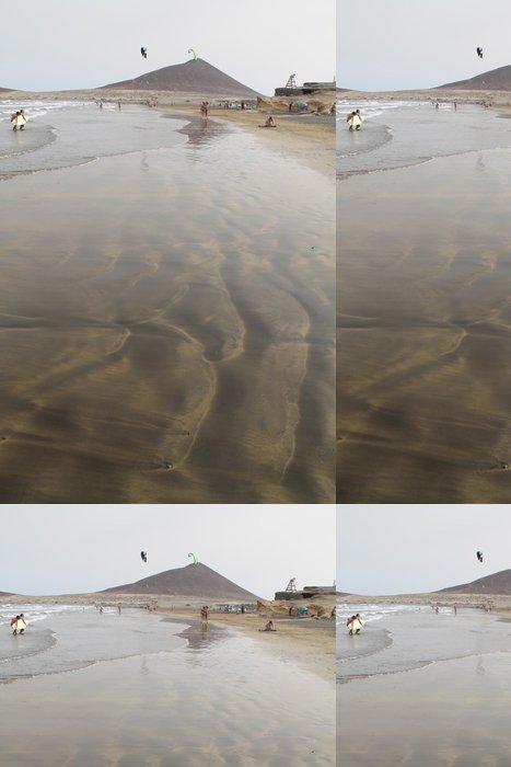 Tapeta Pixerstick Dibujos en la arena - Prázdniny