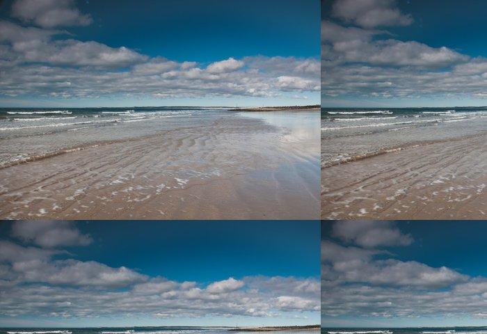 Vinylová Tapeta Dinas Dinlle Beach - Nebe