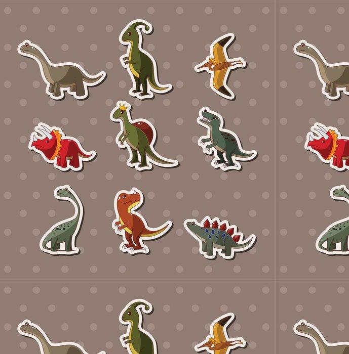 Vinylová Tapeta Dinosaur samolepky -