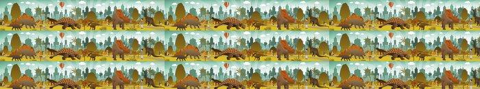 Vinylová Tapeta Dinosauři parku - Umění a tvorba