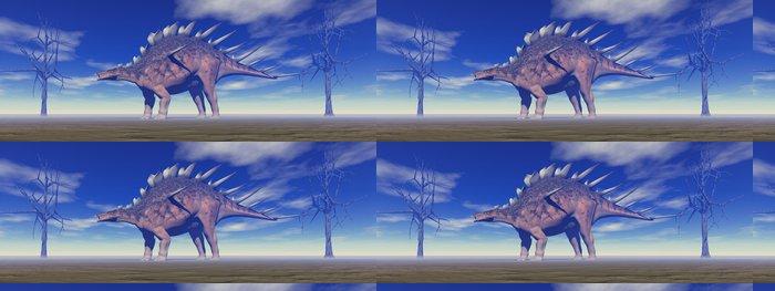 Tapeta Pixerstick Dinosaurů kentrosaurus a stromy - Témata