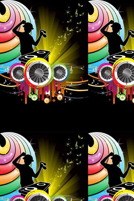 Tapeta Pixerstick DJ music - Pozadí