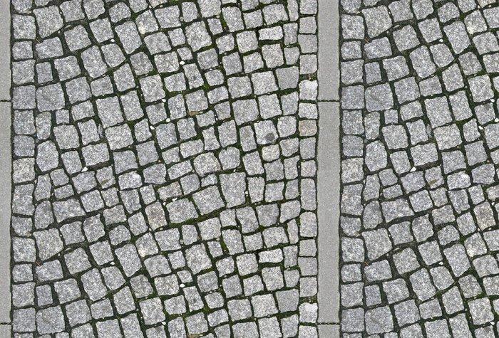 Tapeta Pixerstick Dlažební kostky chodník - Tileable Texture - Struktury