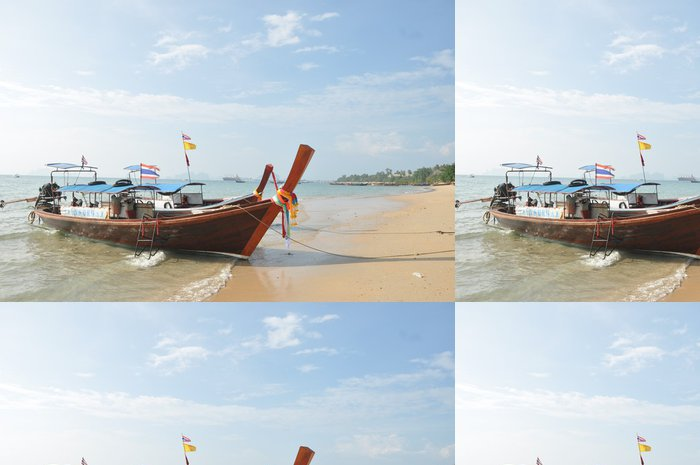 Tapeta Pixerstick Dlouhý ocas loď - Asie