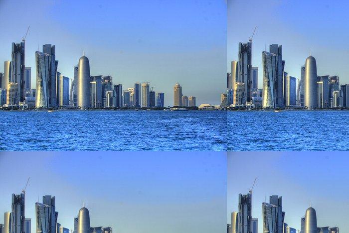Tapeta Pixerstick Doha (Katar / Katar) - Střední Východ
