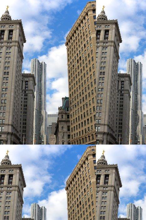 Tapeta Pixerstick Dolní Manhattan Architektura - Americká města