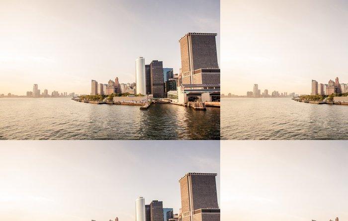Tapeta Pixerstick Dolní Manhattan Skyline - Město