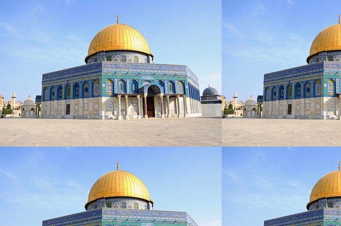 Tapeta Pixerstick Dome of the Rock v Jeruzalémě - Veřejné budovy
