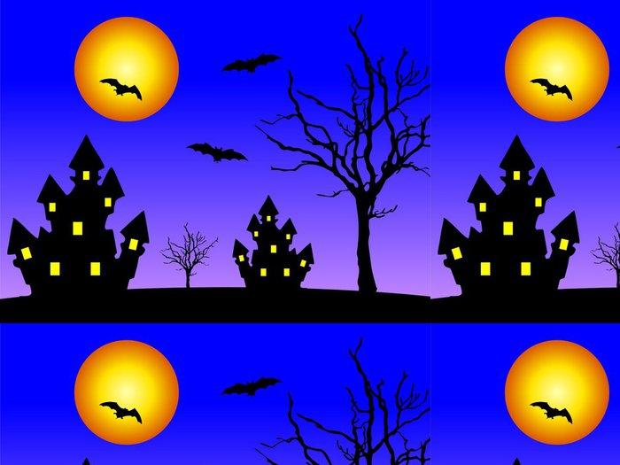 Tapeta Pixerstick Domy v noci - Mezinárodní svátky