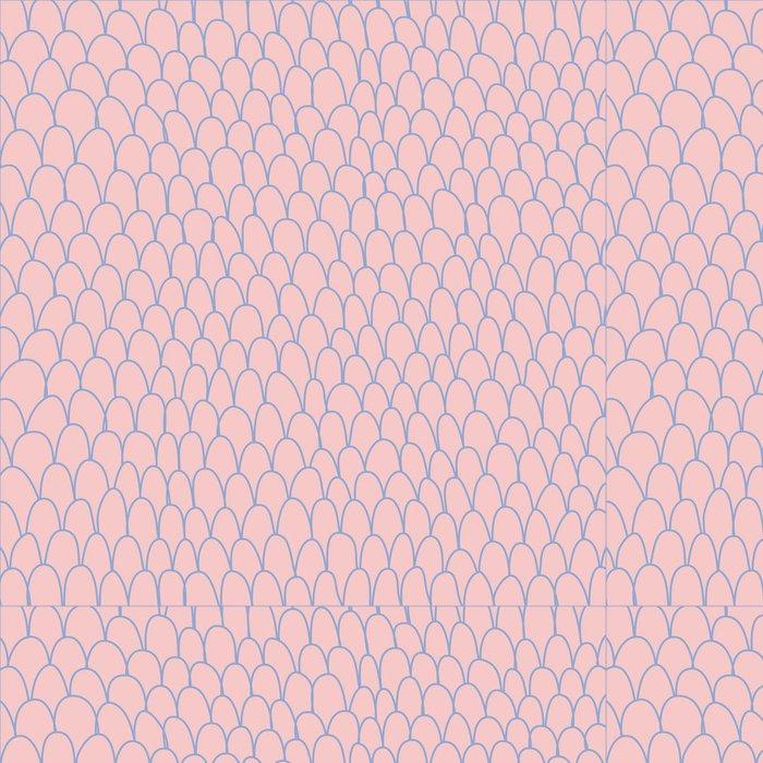 Vinylová Tapeta Doodle pozadí. Ručně kreslenými vektorové ilustrace. art linky. - Pozadí