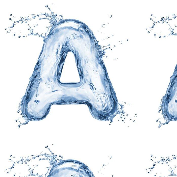 Tapeta Pixerstick Dopis vody abecedy - Jídla