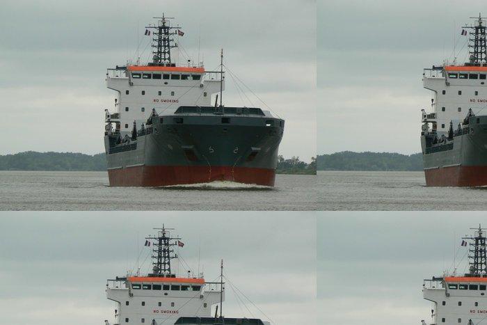 Tapeta Pixerstick Doprava říční - Těžký průmysl