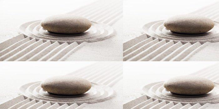 Tapeta Pixerstick Dosažení stálost s meditací - Struktury