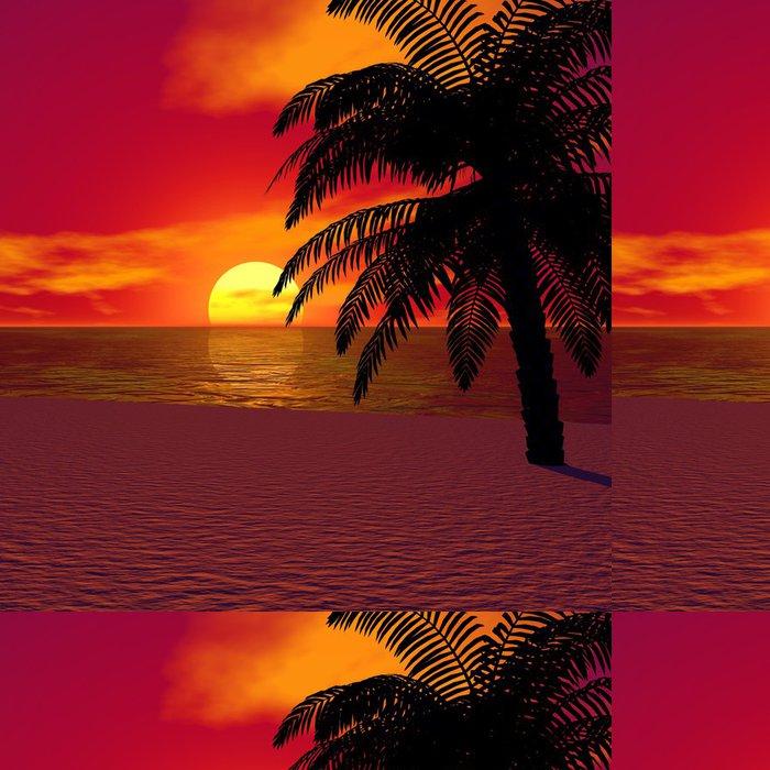 Vinylová Tapeta Dovolená na slunci - Prázdniny