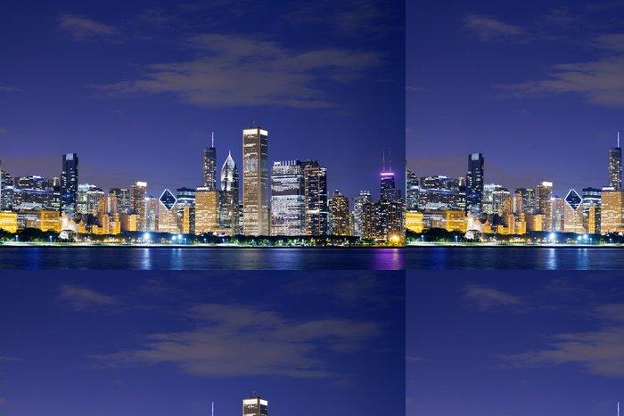 Tapeta Pixerstick Downtown Chicago - Prvky podnikání