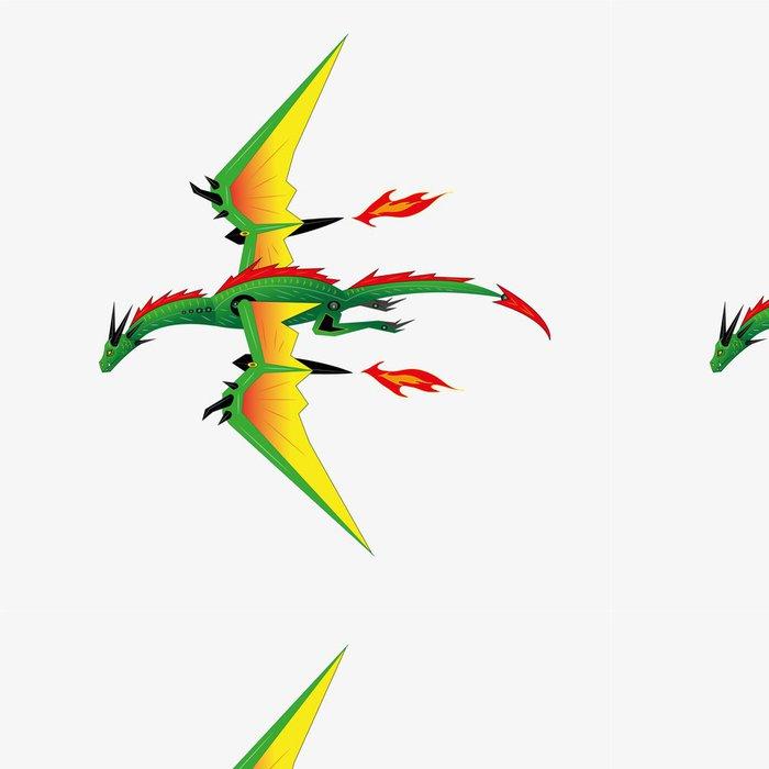 Tapeta Pixerstick Dragon robot. - Stroje