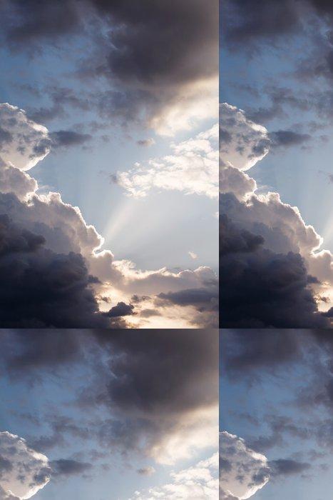 Vinylová Tapeta Dramatic sky - Styly