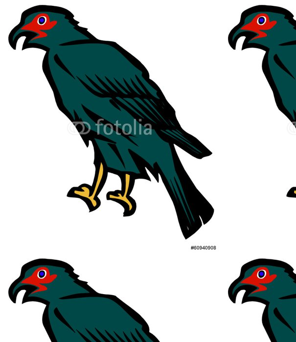 Tapeta Pixerstick Dravý výkres - Ptáci