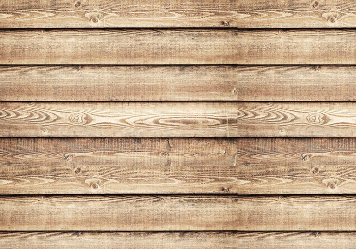 Tapeta Pixerstick Dřevěná stěna - Struktury