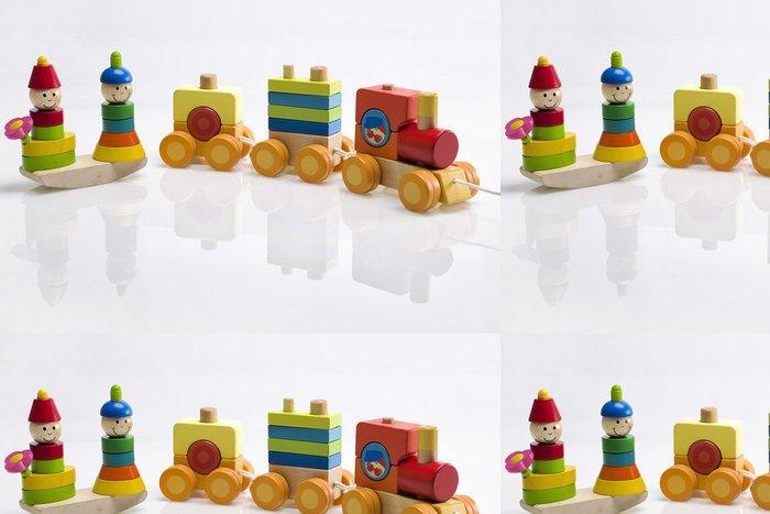 Tapeta Pixerstick Dřevěné hračky - Hry
