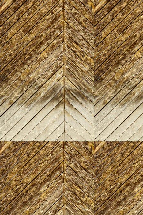 Tapeta Pixerstick Dřevěné pozadí - Pozadí