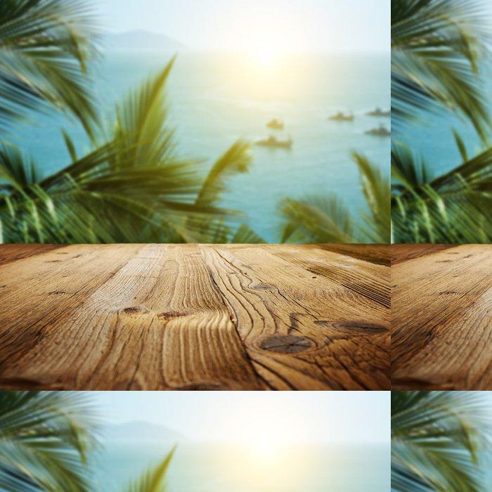 Vinylová Tapeta Dřevěné texturované pozadí na Goa krajiny - Pozadí