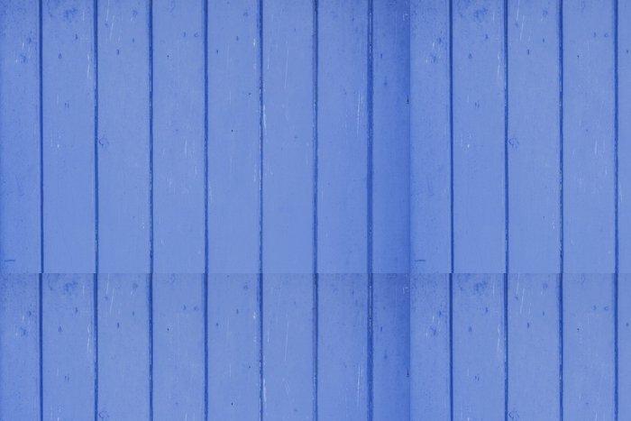 Vinylová Tapeta Dřevo lakované v modré barvě - Prvky podnikání