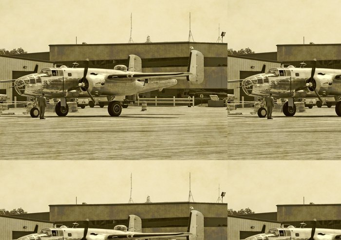 Tapeta Pixerstick Druhá světová válka éra bombardér - Témata