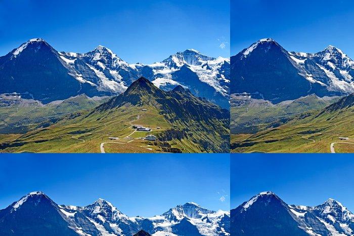 Tapeta Pixerstick Držáky Eiger, Moench a Jungfrau - Témata