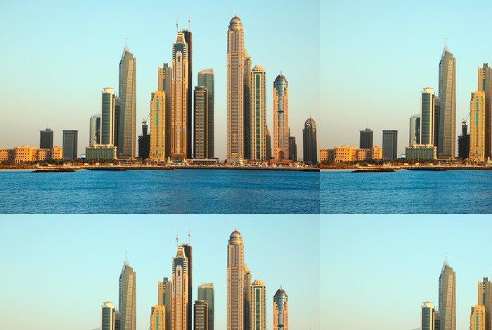 Tapeta Pixerstick Dubaj Marina Mrakodrapy - Střední Východ