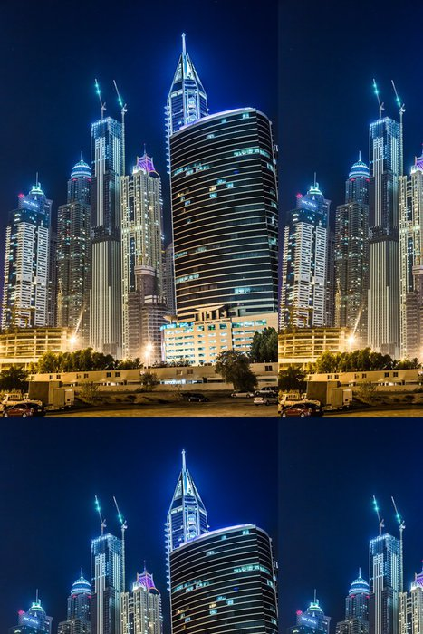 Tapeta Pixerstick Dubaj Marina panoráma, Spojené arabské emiráty - Střední Východ