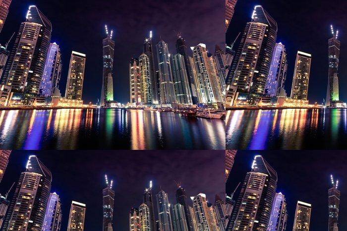 Tapeta Pixerstick Dubaj marina - Témata