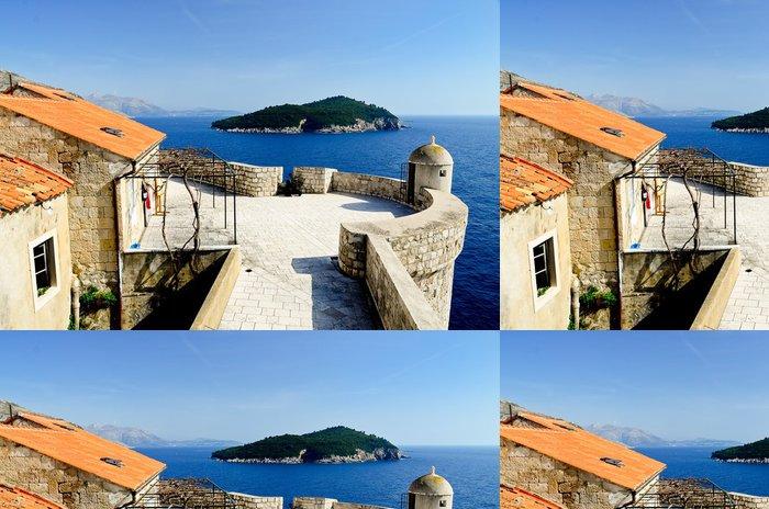 Vinylová Tapeta Dubrovnik, Chorvatsko - Prázdniny