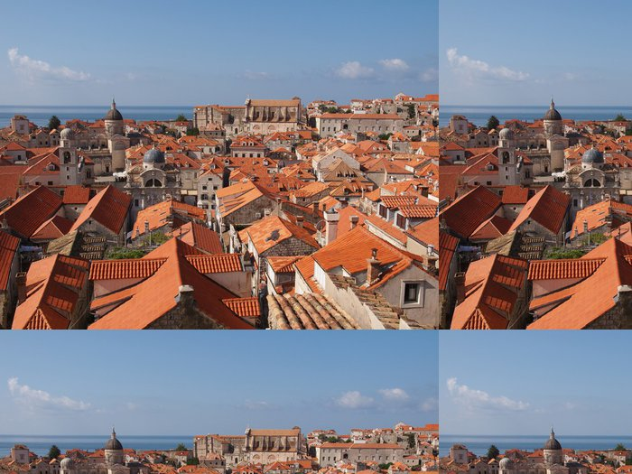 Tapeta Pixerstick Dubrovnik - Evropa