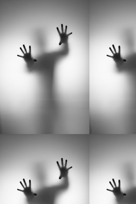Tapeta Pixerstick Duchové hand - Muži