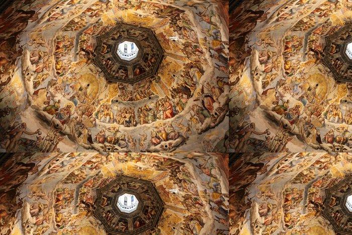 Tapeta Pixerstick Duomo - Poslední soud - Firenze Itálie - Evropa