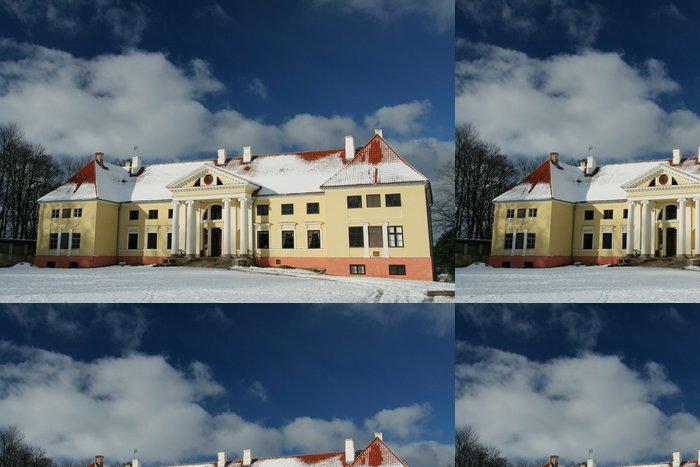 Tapeta Pixerstick Durbe palác - Evropa