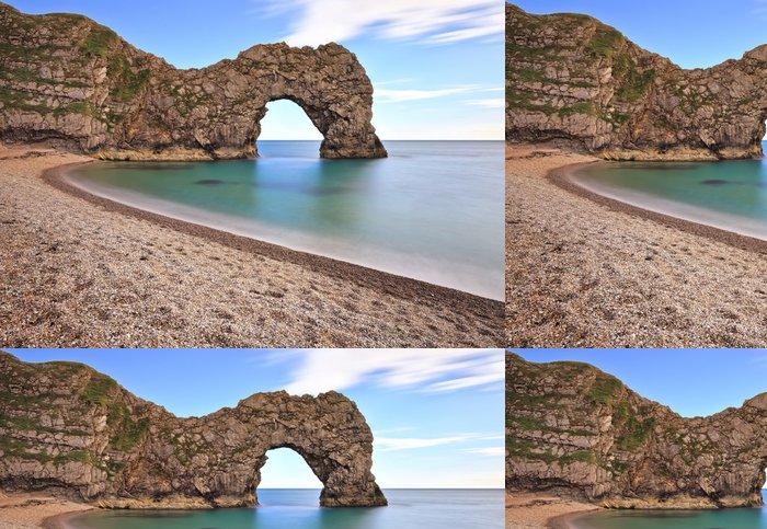 Tapeta Pixerstick Durdle dveře na Jurassic pobřeží Dorset, - Evropa