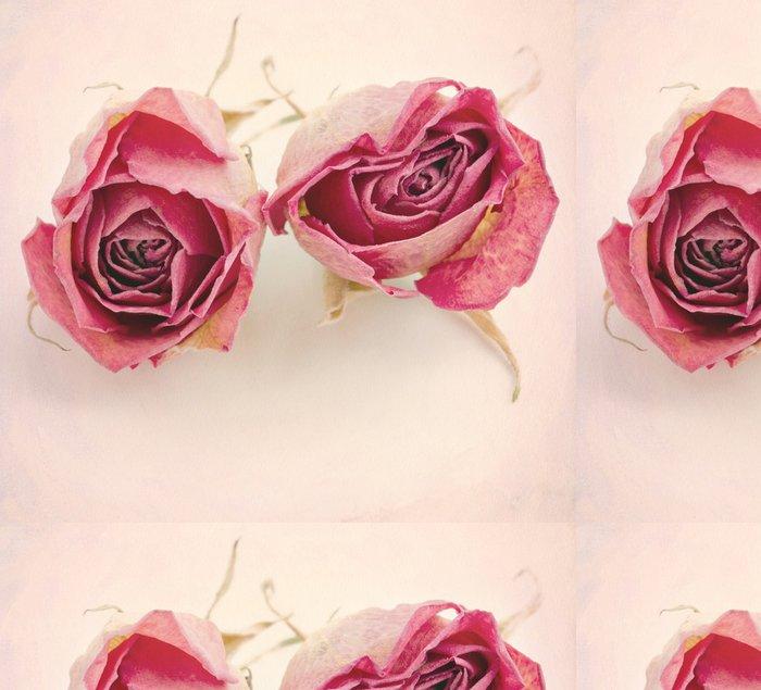 Tapeta Pixerstick Dva sušené růže - Květiny