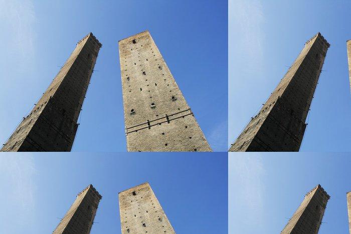Vinylová Tapeta Dvě věže Bologna, slavné středověké stavby - Evropa