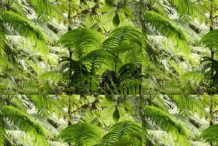 Tapeta Pixerstick Džungle listy - Lesy