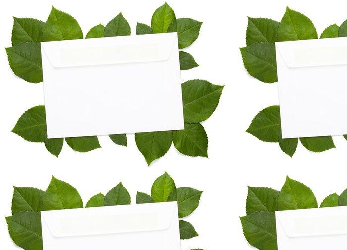 Tapeta Pixerstick Eco dopis na bílé - Umění a tvorba