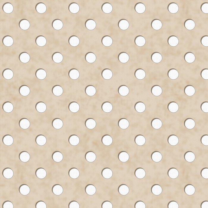 Tapeta Pixerstick Ecru a White Polka Dot Fabric pozadí - Témata