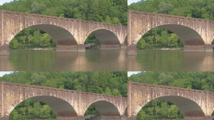 Tapeta Pixerstick Edward M. Gatliff Memorial Bridge - Amerika