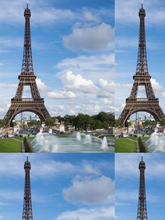Vinylová Tapeta Eiffelova věž, Paříž. Francie - Témata