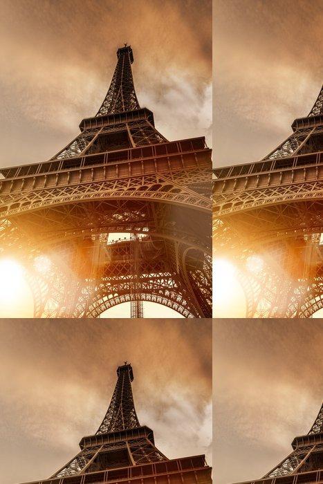 Vinylová Tapeta Eiffelova věž při západu slunce - Témata